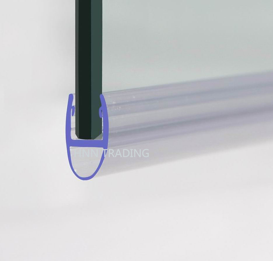 Shower screen rubber strip something is