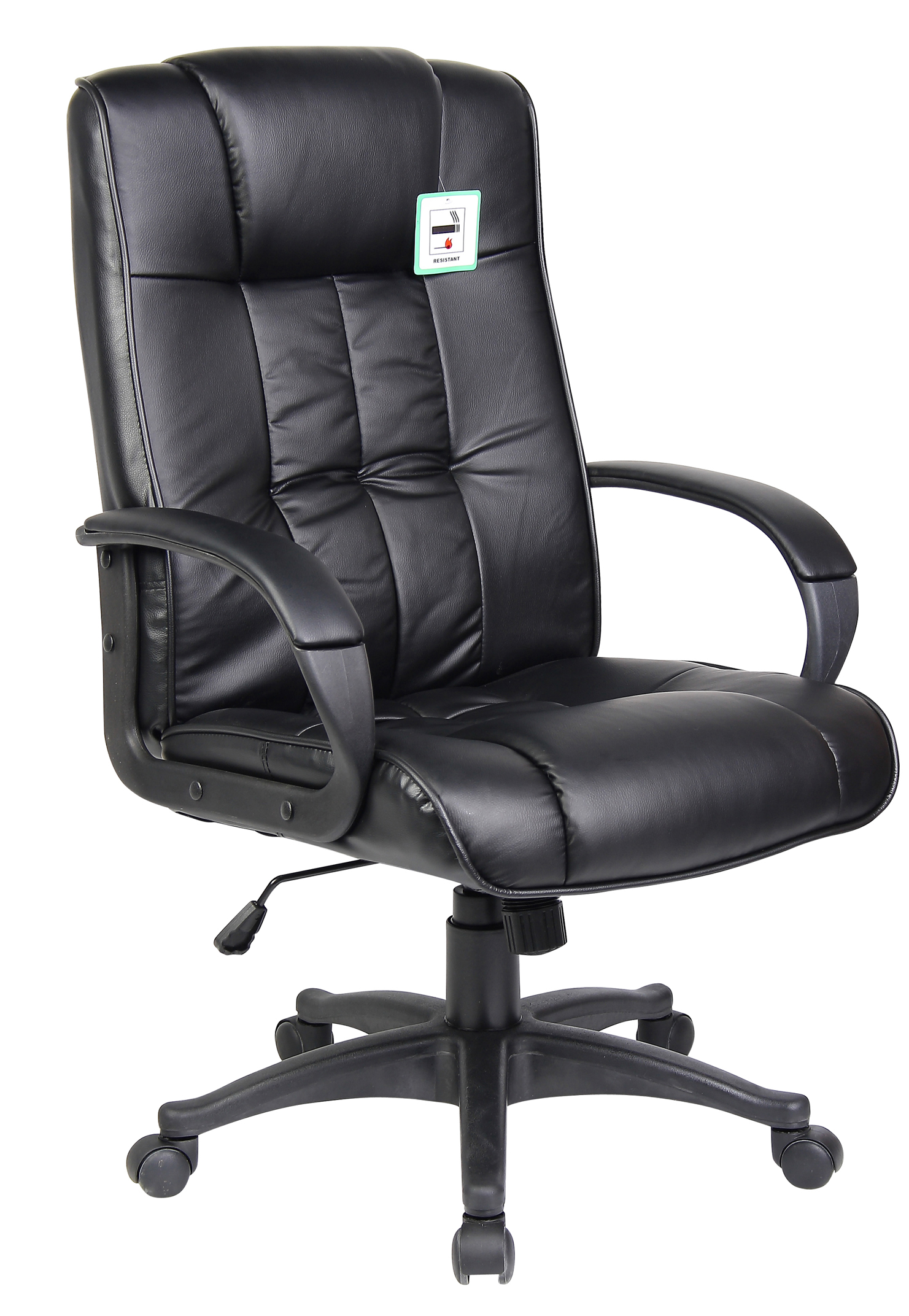 new swivel executive office furniture computer desk office chair in pu leather ebay. Black Bedroom Furniture Sets. Home Design Ideas