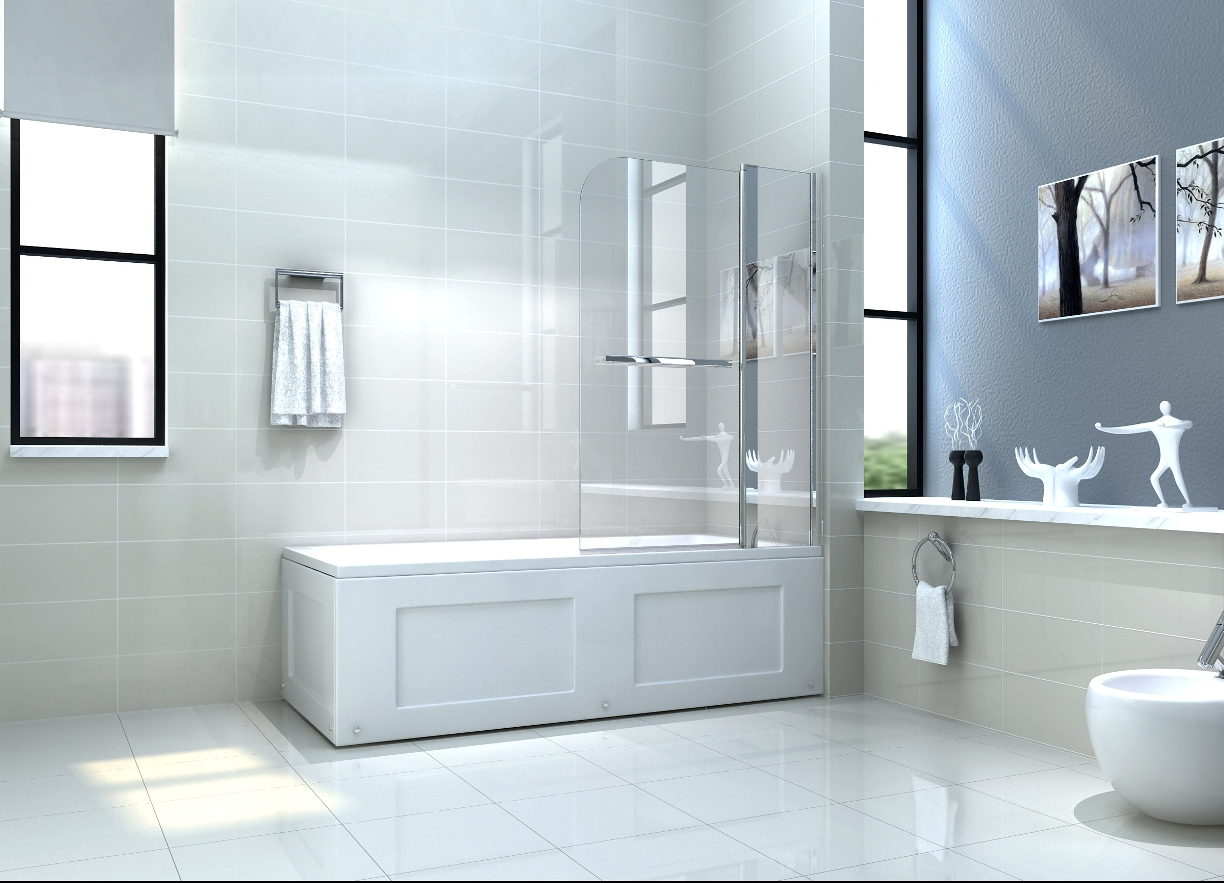 glass over bath shower door panel folding screen 1400 why fit a bath shower screen bath decors