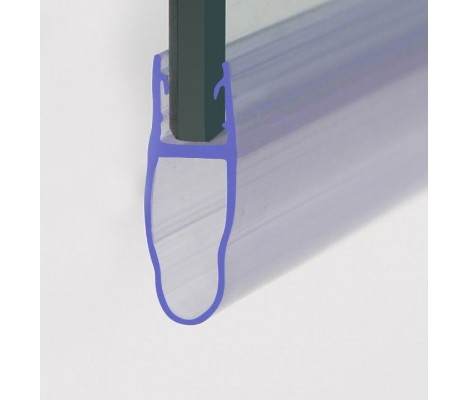 870mm Shower Seal For 4-6mm Glass Up To 18mm Gap
