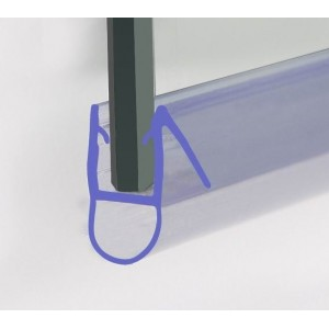 870mm Shower Seal For 4-6mm Glass Up To 8mm Gap G1