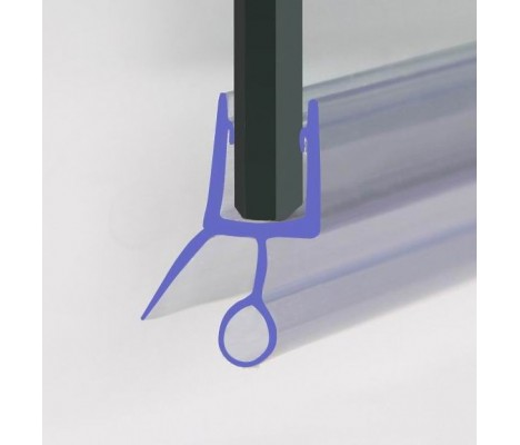870mm Shower Seal For 4-6mm Glass Up To 10mm Gap