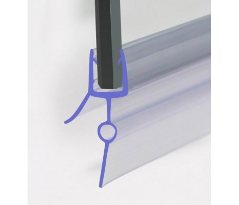 870mm Shower Seal For 4-6mm Glass Up To 22mm Gap
