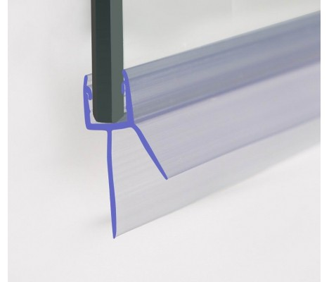 Shower Seal 1400mm In Length For 4-6mm Glass Up To 20mm Gap