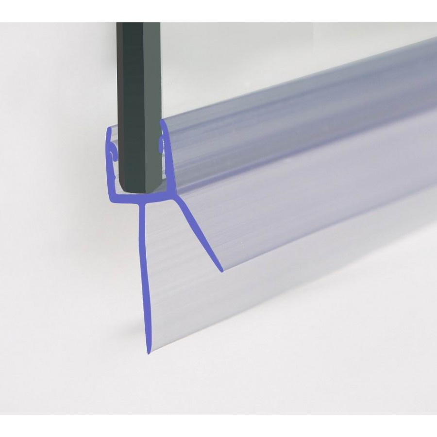 Shower Seal 1400mm In Length For 4 6mm Glass Up To 20mm Gap