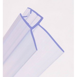 870mm Shower Seal For 4-6mm Glass Up To 20mm Gap