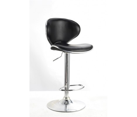 Black Faux Leather Vegas Swivel Breakfast Kitchen Barstool