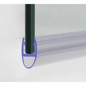 870mm Shower Seal Strip For 4-6mm Glass Up To 8mm Gap